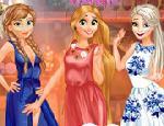 Anna, Elsa ve Rapunzel Partide