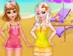 Anna ve Elsa Yaz Yolculuğu