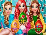 Ariel & Elsa & Anna
