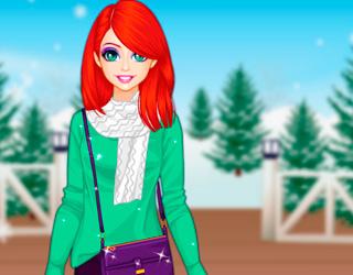 Ariel'in Kış Alışverişi