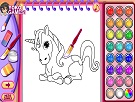 At ve Pony Boyama Kitabı