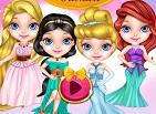 Barbie Bebek Disney Modası