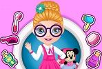 Barbie Bebek Okul Saçları