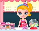 Barbie Bebek Şekerleme Dükkanı
