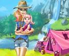 Barbie Kamp Yapmaya Gidiyor