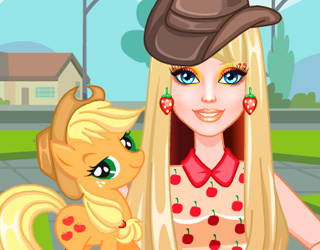 Barbie ve Ponyler