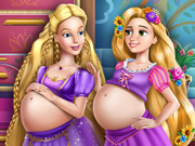 Barbie ve Rapunzel