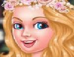 Barbie Vintage Çiçekleri