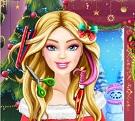 Barbie Yılbaşı Saç Stili