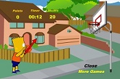 Bart Simpson Basketbol
