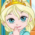 Bebek Elsa Oda Dekorasyonu