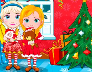 Bebek Elsa ve Bebek Anna Alışverişte