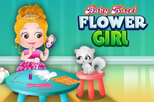 Bebek Hazel: Çiçekçi Kız
