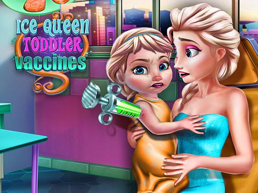 Buz Kraliçesi Aşı Kontrolünde