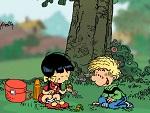 Cedric ve Chen Piknikte