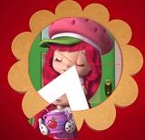 Çilek Kız Yuvarlak Puzzle