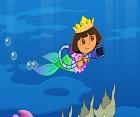 Denizkızı Dora Çöp Toplama