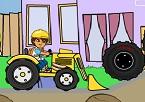 Diego Traktörle Temizlik