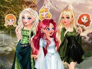 Disney Prensesleri Elf Oluyorlar