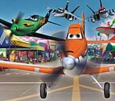 Disney Uçaklar Puzzle