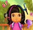 Dora Gerçek Saç Kesimi