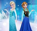 Elsa ve Anna Giydirme