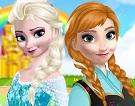 Elsa ve Anna Makyajı