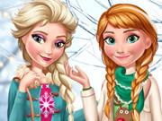 Elsa ve Anna'nın Kış Modası