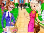 Elsa ve Anna Okul Kıyafetleri