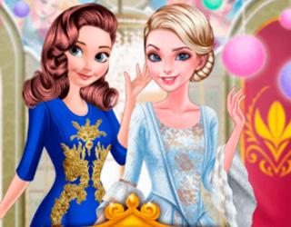 Elsa ve Anna Parti Veriyorlar