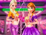 Elsa ve Anna Sinema Gecesi