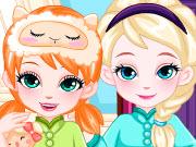 Elsa ve Anna Uyku Saati