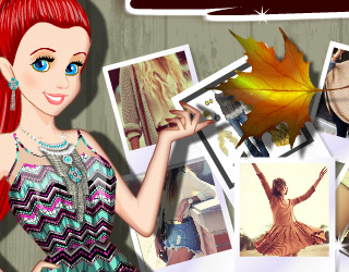 Elsa ve Ariel 4  Mevsim Moda