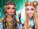 Elsa ve Moana Giydirme & Saç