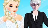 Elsa'ya Gelinlik Giydir