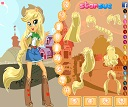Equestria Girls Applejack Giydir