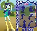 Equestria Girls Blueberry Cake Giydirme