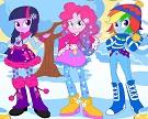 Equestria Girls Kış Modası