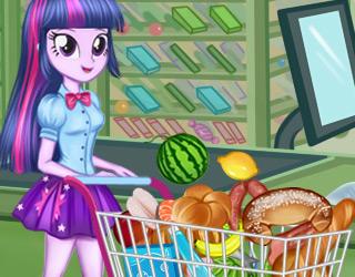 Equestria Girls Market Alışverişi