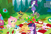 Equestria Girls Piknikte