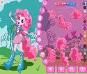 Equestria Girls Pinkie Pie Giydir