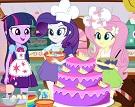 Equestria Kızları Kek Yapıyor