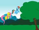 Fluttershy ile Rainbow Dash Yolculuğu