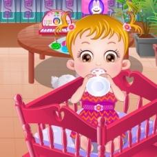 Hazel Bebeği Eğlendir