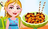 Hazel Bebek ile Dondurma Yapma