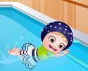 Hazel Bebek Yüzme Zamanı