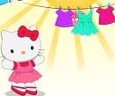 Hello Kitty Çamaşır Günü