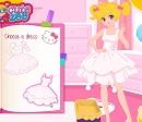 Hello Kitty Elbise Tasarımı