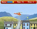 İtfaiyeci Sam Helikopterle Yangın Söndür