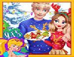 Jack ve Elsa ile Büyülü Noel Akşamı